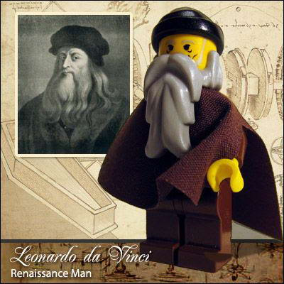 41 Famous people in Lego