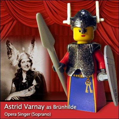33 Famous people in Lego