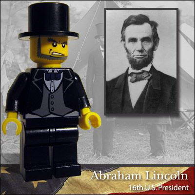 20 Famous people in Lego