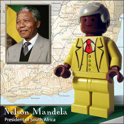 13 Famous people in Lego