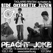 BidE OKeRrEtiK... PEACHY JOKE