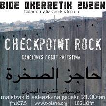 Bide Okerretik... Checkpoint Rock