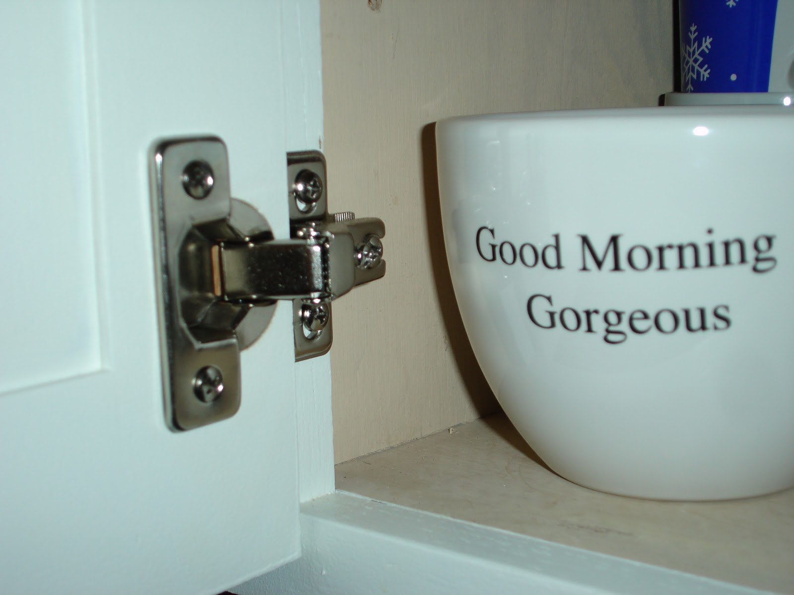 Kitchen Makeover - I love you paint!!! - Crazy Wonderful