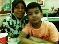 mummy and bro :)
