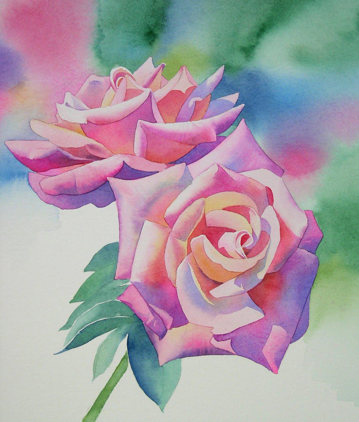 Watercolor Flower Painting: Barbara Fox Studio