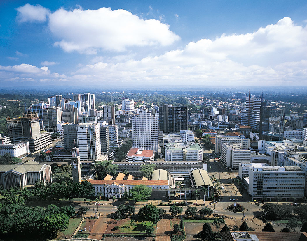 ... in africa african london the capital of nairobi kenya was considered