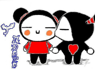 Finalmente a Pucca Ganhou um Beijo do Garu!