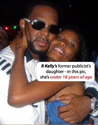r kelly 1107 ... Reshonda Landfair, was the underage girl featured in R Kelly's sex tape.