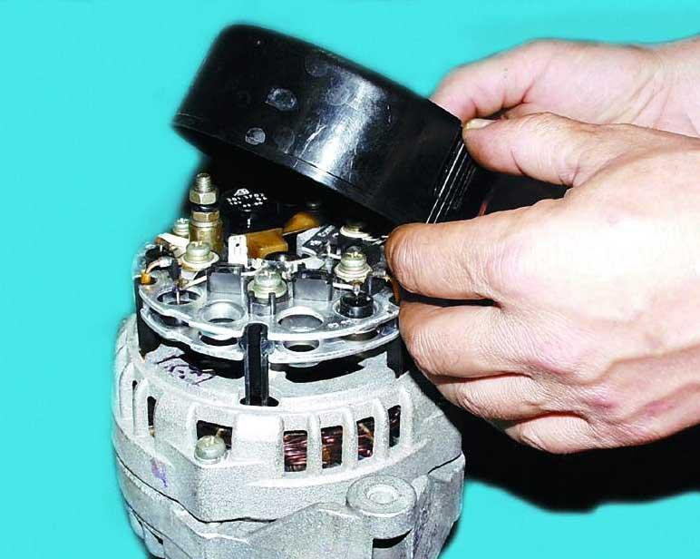 Фото №3 - как отремонтировать генератор на ВАЗ 2110