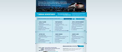 NewUrbanAdventurer.com, New Urban Adventurer Instant Win game 2010