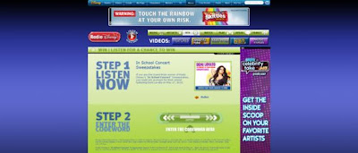 RadioDisney.com/Win, Radio Disney's In School Concert Sweepstakes