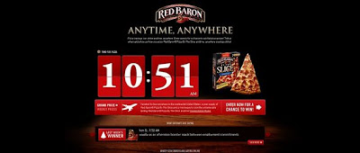 Red Baron Anytime, Anywhere Pizza Sweeps on RedBaronAnytimeAnywhere.com