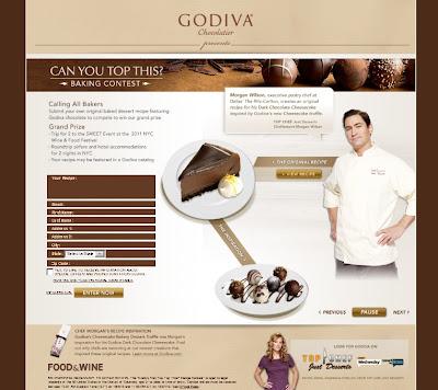foodandwine.com/godiva, www.foodandwine.com/godiva, Godiva
