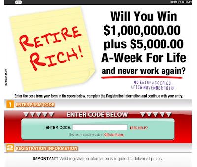 PCH UltraComboPrize, PCH.com/retire, www.PCH.com/retire.com