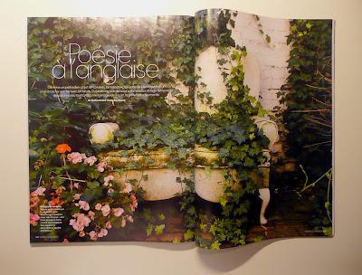 Divanetto vintage, patchwork, giardino