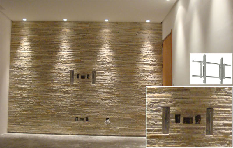 Pedras decorativas revestimentos e pisos em geral novas - Paredes decorativas interiores ...