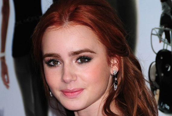 Lily Collins = Phil Collins' Daughter