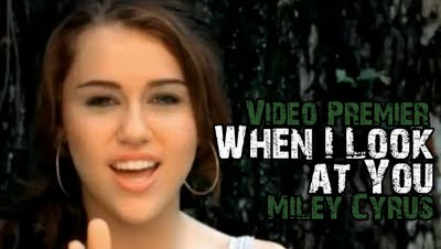 Miley cyrus-When I Look At You video download(.mkv file)