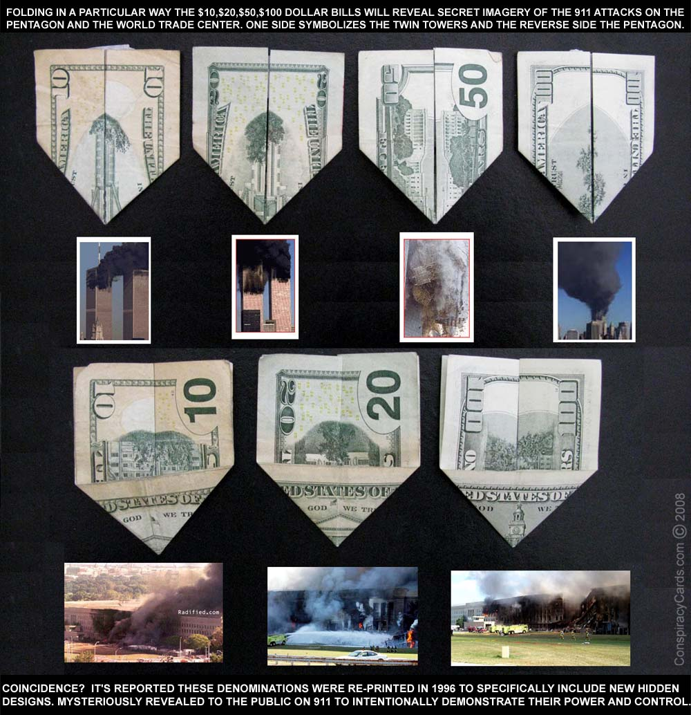 Money: Homage Of Reason: Twin Towers And 911 On Our Currency