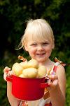 Vauva kasvissyöjäperheessä