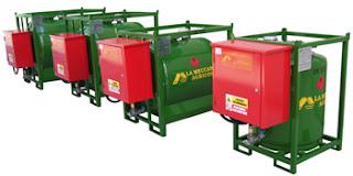 contenitore serbatoio trasportabile gasolio agricolo