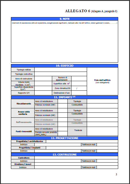 Certificazione Energetica Appartamento
