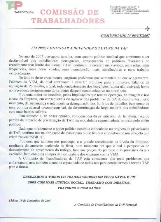 Comunicado 06/2007