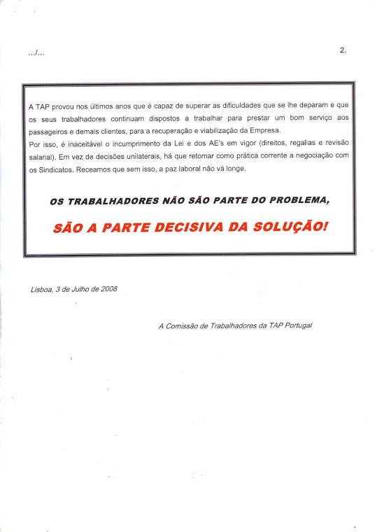 Comunicado 10/2008 (verso)