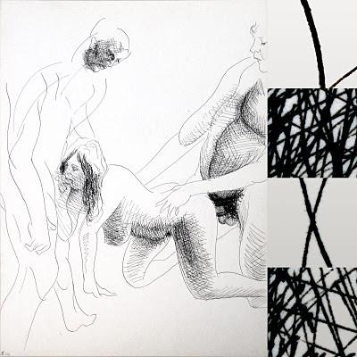 dessin pornographique triolisme