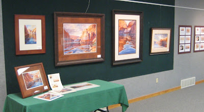 Roland Lee benefit art show at Olympus High School Art Space Gallery