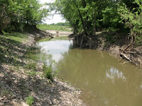 Shoal Creek runs through the Oliver Walker property