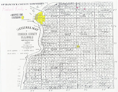 Richard Keele Property Map in Nauvoo