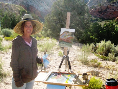 plein air painting near Orderville