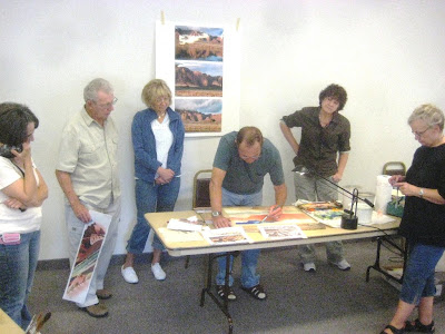 Dick Brown watercolor workshop sponsored by the Southern Utah Watercolor Society