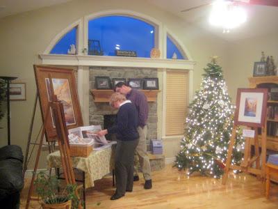 Roland Lee art show in Highland Utah