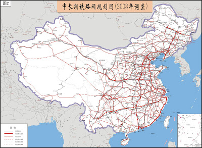 Sun Bin China Rail Map planned