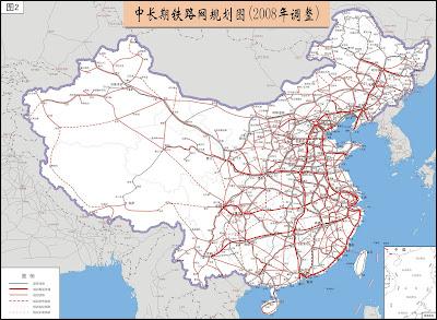 Sun Bin: China Rail Map (planned)
