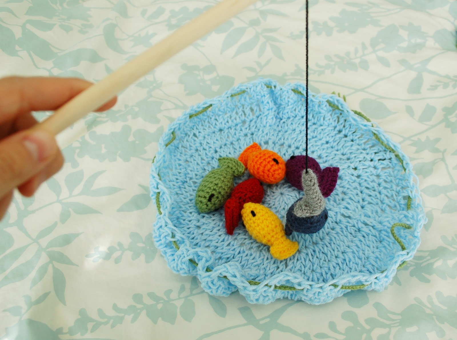 Fishing Game Toy : Alli crafts free pattern fishing game kid s toy