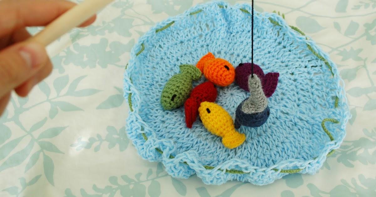 Fish Game Toy : Alli crafts free pattern fishing game kid s toy