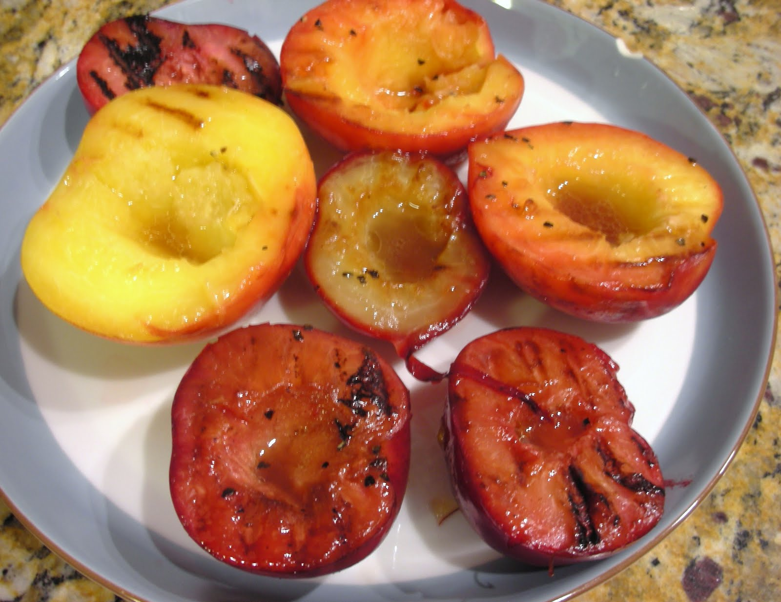 Everyday Vegan: Grilled Stone Fruit Antipasto Plate