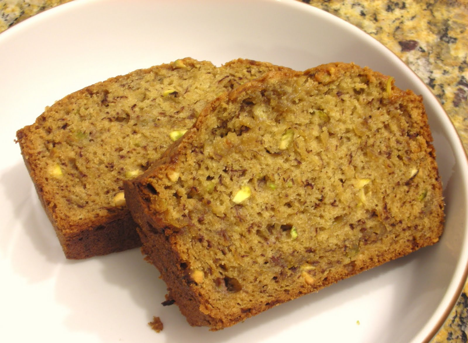 Everyday vegan cardamom banana bread with pistachios earlier this month i made a molasses oat banana bread my non vegan fiance loved it so much that i promised him another banana bread recipe soon forumfinder Images