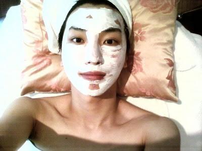 Masker Wajah Tradisional