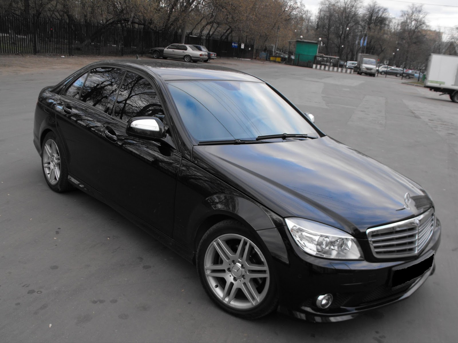 mercedes benz c200 w204 no chrome benztuning. Black Bedroom Furniture Sets. Home Design Ideas