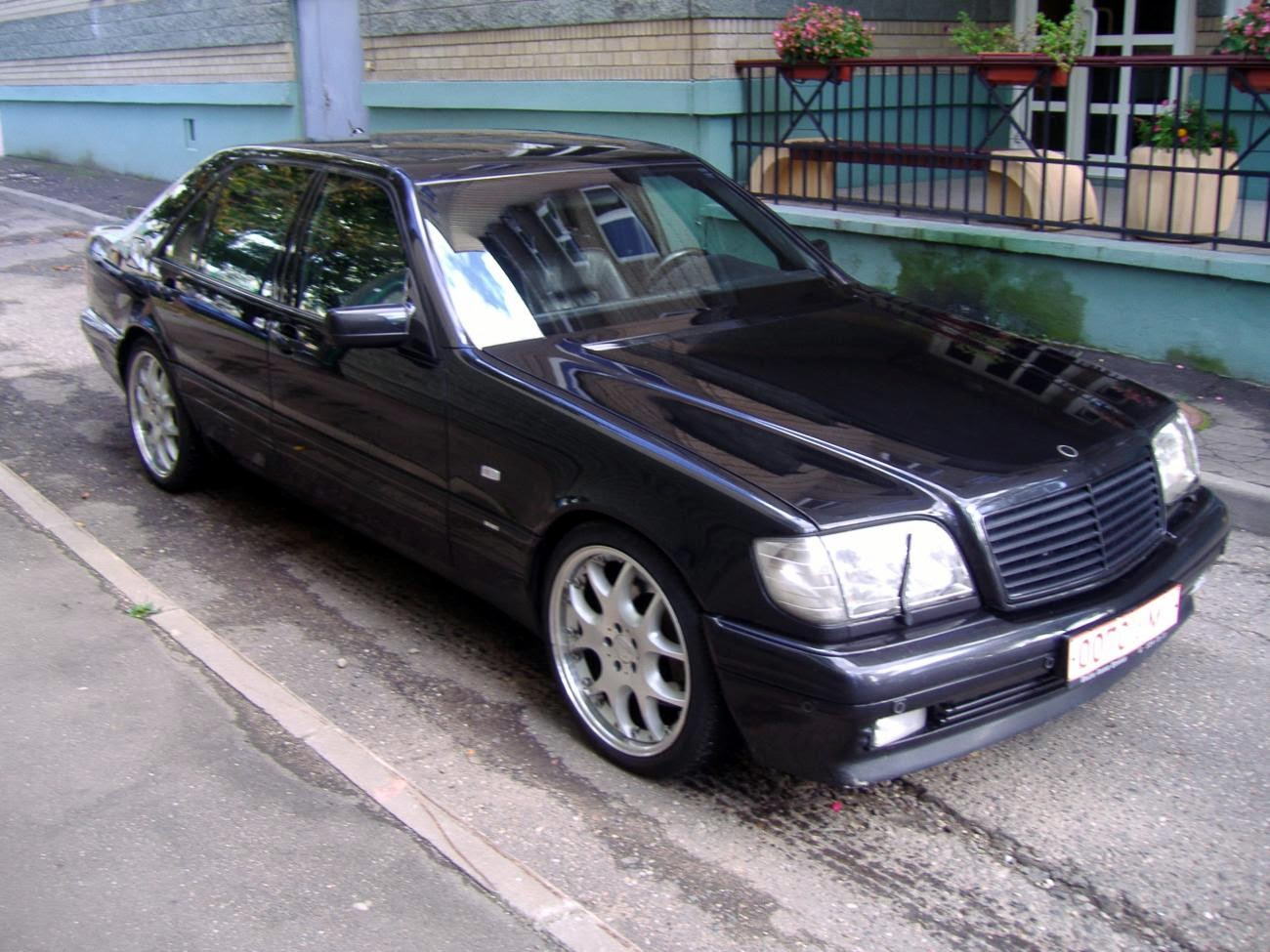 Brabus s 7 3 w140 v12 benztuning for Mercedes benz w140