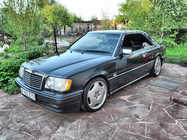mercedes w124 coupe kazakhstan