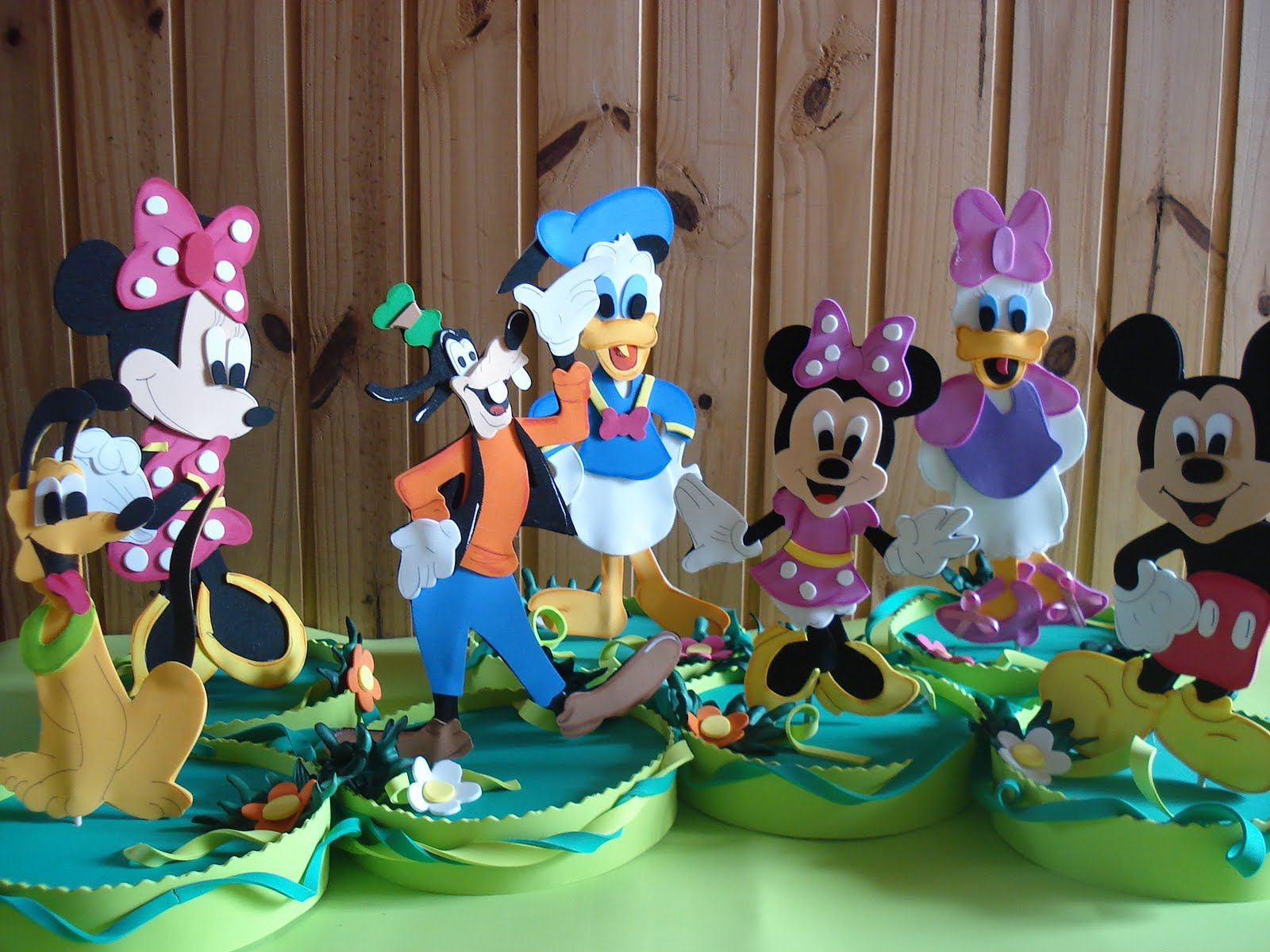 Decora    O Da Turma Do Mickey Em E V A