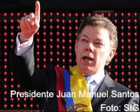 Santos reitera llamado a la unidad nacional