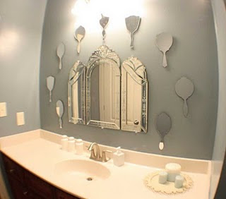 Decor Blog Links Cute Little Girl Bathroom Mirror Idea