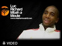 Luc Richard Mbah a Moute's website