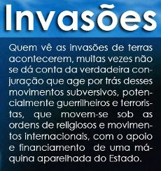 Terras no Brasil: arma revolucionária do PT/PSDB